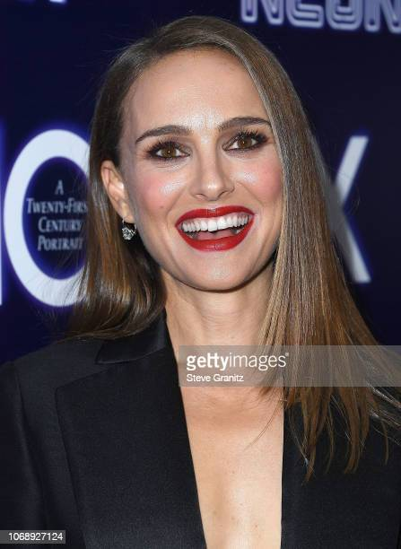 Natalie Portman arrives at the Premiere Of Neon's Vox Lux at ArcLight Hollywood on December 5 2018 in Hollywood California