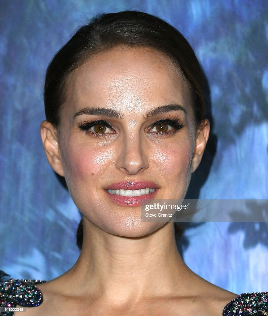 Natalie Portman arrives at the Premiere Of Paramount Pictures' 'Annihilation' at Regency Village Theatre on February 13, 2018 in Westwood, California.