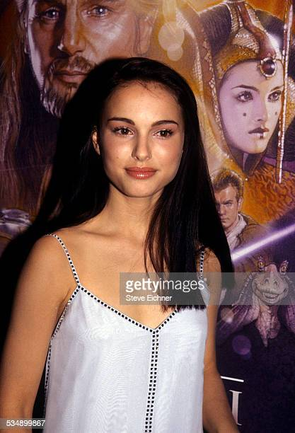 Natalie Portman at premiere of 'Star Wars The Phantom Menace' New York May 16 1999