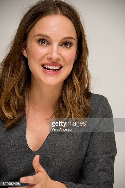 Natalie Portman at the 'Jackie' Press Conference at the Four Seasons Hotel on November 11 2016 in Beverly Hills California