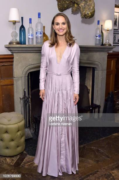 Natalie Portman at the VOX LUX premiere party hosted by GREY GOOSE Vodka and Soho House at Soho House Toronto on September 7 2018 in Toronto Canada
