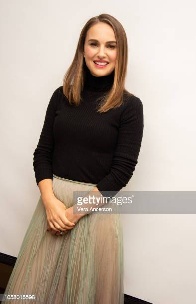 Natalie Portman at the Vox Lux Press Conference at the Four Seasons Hotel on November 5 2018 in Beverly Hills California