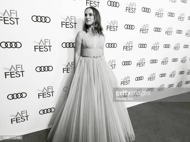 Natalie Portman attends AFI FEST 2018 Presented By Audi 'Vox Lux' Special Screening at American Cinematheque's Egyptian Theatre on November 09 2018...