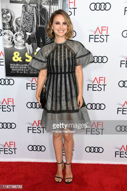 """Natalie Portman attends AFI FEST 2019 Presented By Audi – """"Queen & Slim"""" Premiere at TCL Chinese Theatre on November 14, 2019 in Hollywood,..."""