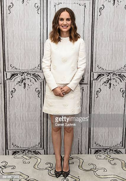 Natalie Portman attends AOL Build to discuss her new film 'A Tale Of Love And Darkness' at AOL HQ on August 18, 2016 in New York City.