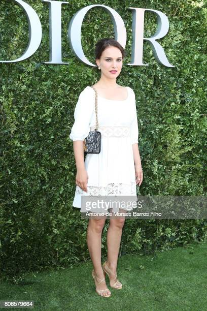 Natalie Portman attends 'Christian Dior couturier du reve' Exhibition Launch celebrating 70 years of creation at Musee Des Arts Decoratifs on July 3...