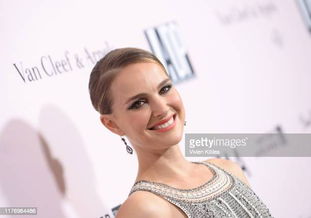 Natalie Portman attends LA Dance Project's 2019 Fundraising Gala on October 19, 2019 in Los Angeles, California.