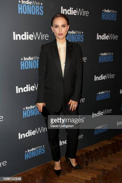Natalie Portman attends IndieWire Honors 2018 at No Name on November 1 2018 in Los Angeles California