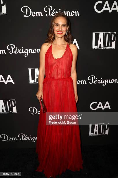 Natalie Portman attends LA Dance Project's Annual Gala at Hauser Wirth on October 20 2018 in Los Angeles California