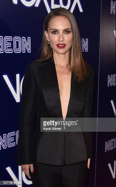 Natalie Portman attends premiere of Neon's Vox Lux at ArcLight Hollywood on December 05 2018 in Hollywood California