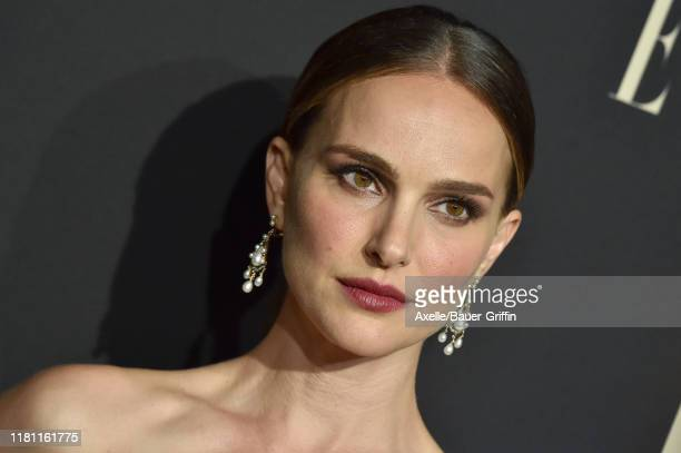 Natalie Portman attends the 2019 ELLE Women In Hollywood at the Beverly Wilshire Four Seasons Hotel on October 14, 2019 in Beverly Hills, California.