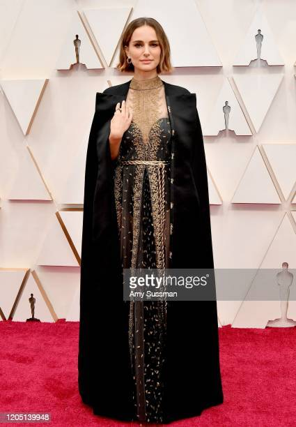 Natalie Portman` attends the 92nd Annual Academy Awards at Hollywood and Highland on February 09 2020 in Hollywood California