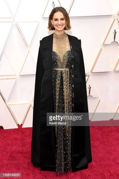 Natalie Portman attends the 92nd Annual Academy Awards at Hollywood and Highland on February 09 2020 in Hollywood California