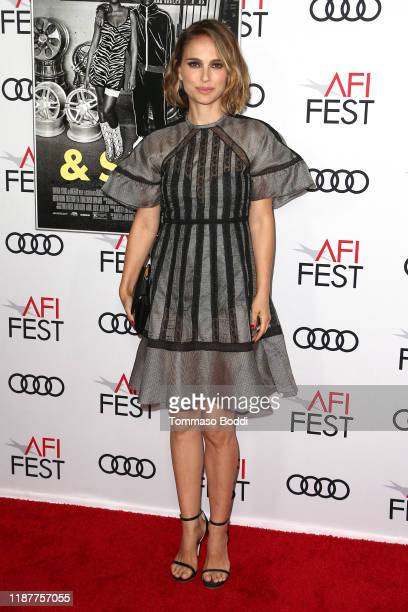 """Natalie Portman attends the AFI FEST 2019 Presented By Audi premiere of """"Queen & Slim"""" at TCL Chinese Theatre on November 14, 2019 in Hollywood,..."""