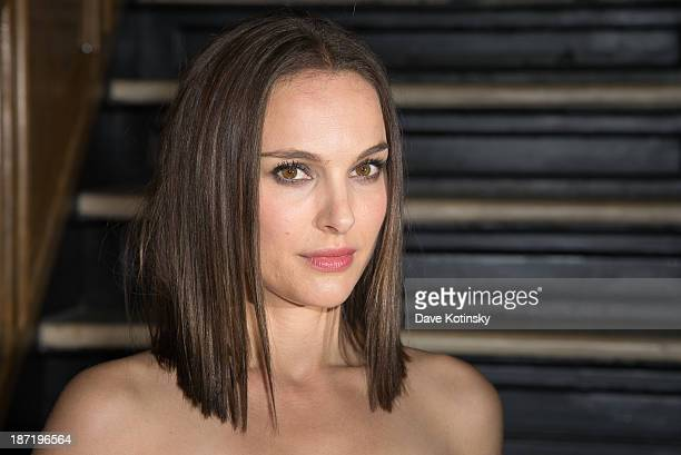 Natalie Portman attends the after party for the screening of 'Thor The Dark World' hosted by The Cinema Society and Dior Beauty at The Marlton on...