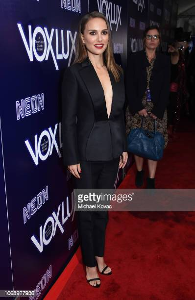 Natalie Portman attends the Los Angeles Premiere of Neon's 'Vox Lux' at ArcLight Hollywood on December 5 2018 in Los Angeles California