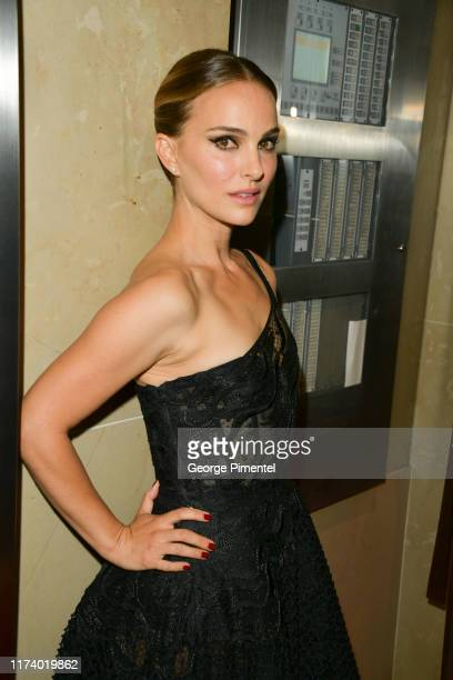"""Natalie Portman attends the """"Lucy In The Sky"""" premiere during the 2019 Toronto International Film Festival at Princess of Wales Theatre on September..."""