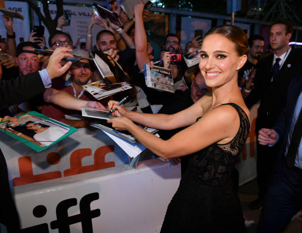 """CAN: 2019 Toronto International Film Festival - """"Lucy In The Sky"""" Premiere - Red Carpet"""