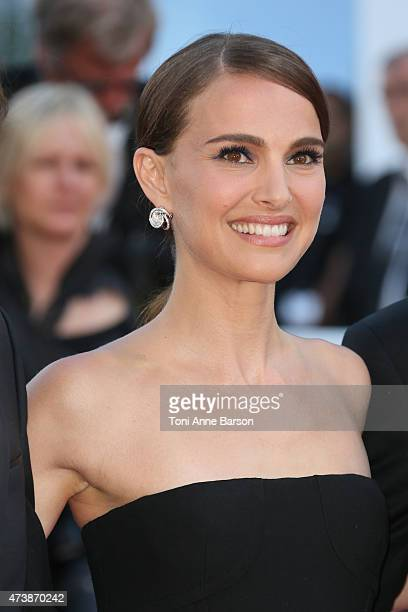 Natalie Portman attends the 'Mia Madre' premiere during the 68th annual Cannes Film Festival on May 16 2015 in Cannes France