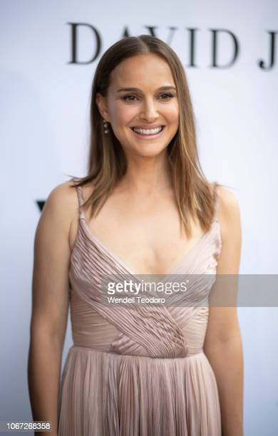 Natalie Portman attends the NGV Gala 2018 at National Gallery of Victoria on December 1 2018 in Melbourne Australia