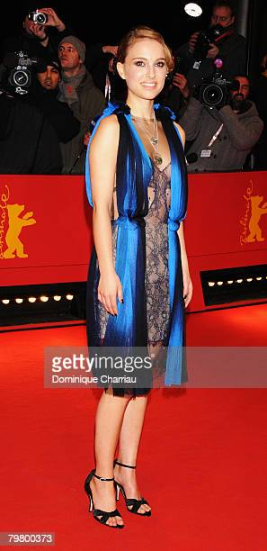 Natalie Portman attends The Other Boleyn Girl premiere during day nine of the 58th Berlinale Film Festival at the Berlinale Palast on February 15,...