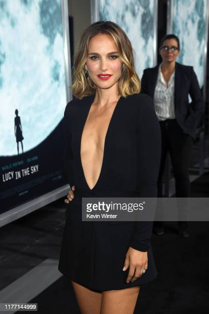 Natalie Portman attends the Premiere of FOX's 'Lucy In The Sky' at Darryl Zanuck Theater at FOX Studios on September 25, 2019 in Los Angeles,...