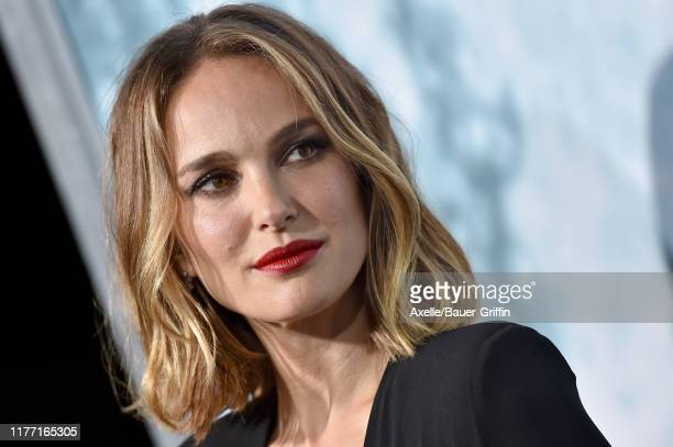 """Natalie Portman attends the Premiere of FOX's """"Lucy In The Sky"""" at Darryl Zanuck Theater at FOX Studios on September 25, 2019 in Los Angeles,..."""