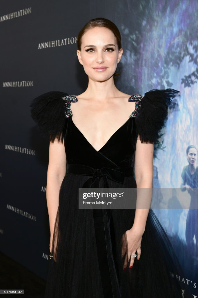 """Premiere Of Paramount Pictures' """"Annihilation"""" - Red Carpet : News Photo"""