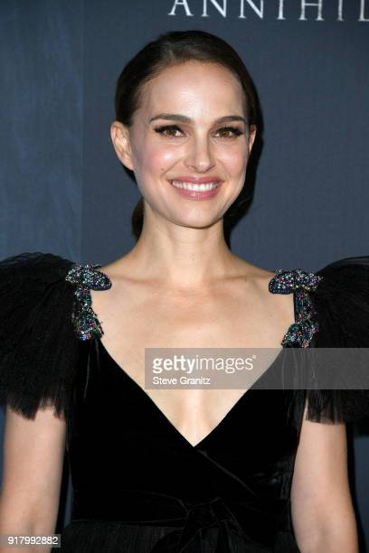 Natalie Portman attends the premiere of Paramount Pictures' 'Annihilation' at Regency Village Theatre on February 13 2018 in Westwood California