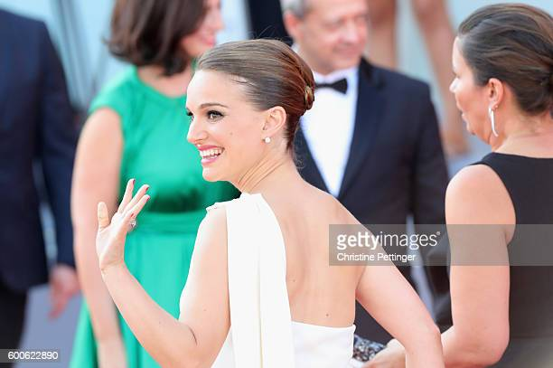 Natalie Portman attends the premiere of 'Planetarium' during the 73rd Venice Film Festival at Sala Grande on September 8 2016 in Venice Italy
