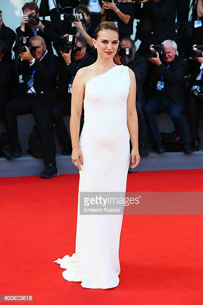 Natalie Portman attends the premiere of 'Planetarium' during the 73rd Venice Film Festival at Sala Darsena on September 8, 2016 in Venice, Italy.