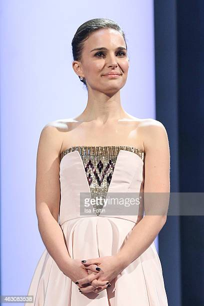 Natalie Portman attends the Presentation of European Shooting Stars 2015 during the 65th Berlinale International Film Festival at Berlinale Palace on...