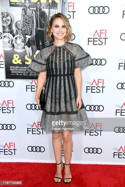 """Natalie Portman attends the """"Queen & Slim"""" Premiere at AFI FEST 2019 presented by Audi at the TCL Chinese Theatre on November 14, 2019 in Hollywood,..."""