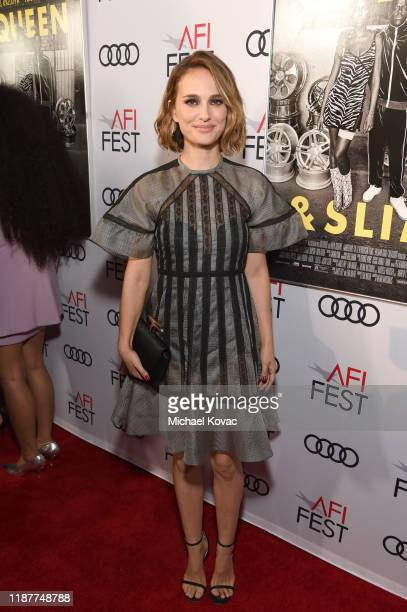Natalie Portman attends the Queen Slim Premiere at AFI FEST 2019 presented by Audi at the TCL Chinese Theatre on November 14 2019 in Hollywood...