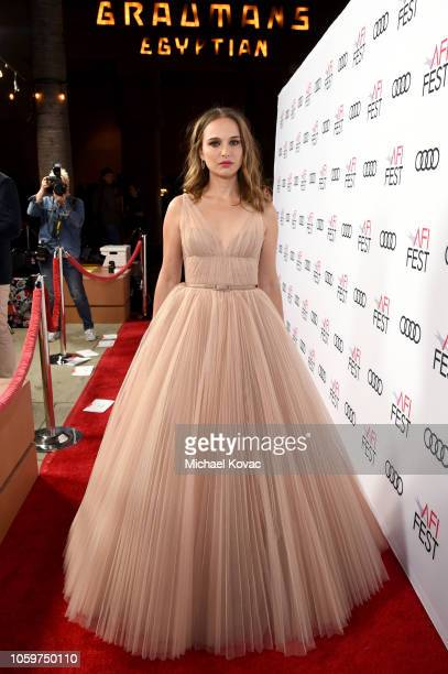 Natalie Portman attends the Screening of 'Vox Lux' at AFI FEST 2018 Presented By Audi at the Egyptian Theatre on November 9, 2018 in Hollywood,...