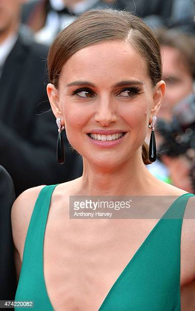 Natalie Portman attends the Sicario premiere during the 68th annual Cannes Film Festival on May 19 2015 in Cannes France