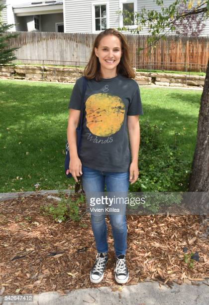 Natalie Portman attends the Telluride Film Festival 2017 on September 2 2017 in Telluride Colorado