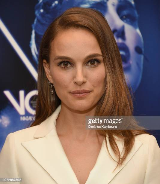 Natalie Portman attends the 'Vox Lux' New York Screening at the Whitby Hotel on December 13 2018 in New York City