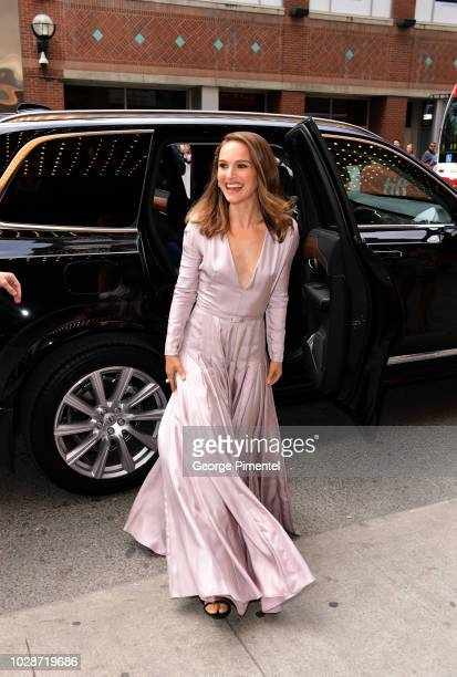 Natalie Portman attends the Vox Lux premiere during 2018 Toronto International Film Festival at The Elgin on September 7 2018 in Toronto Canada