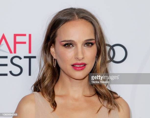 Natalie Portman attends the 'Vox Lux' special screening during AFI FEST 2018 presented by Audi at American Cinematheque's Egyptian Theatre on...