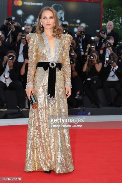 Natalie Portman attends 'Vox Lux' photocall during the 75th Venice Film Festival at Sala Grande on September 4 2018 in Venice Italy