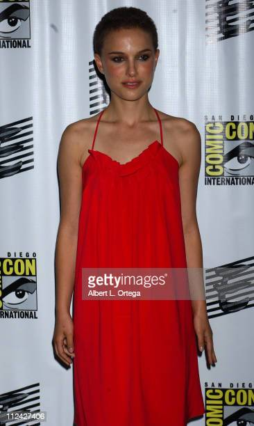 Natalie Portman during 36th Annual Comic Con International - Day Two at San Diego Convention Center in San Diego, California, United States.