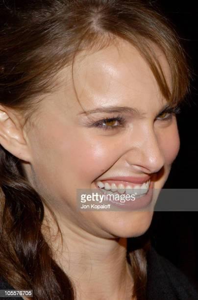 Natalie Portman during 'Closer' Los Angeles Premiere Arrivals at Mann Village Theatre in Westwood California United States