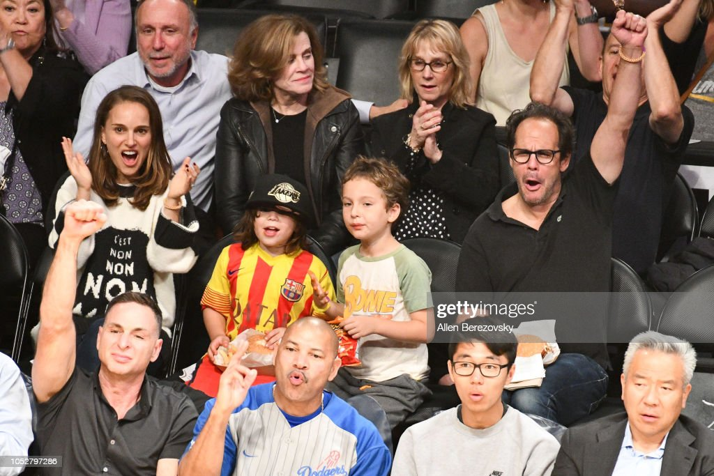 Natalie Portman Her Son Aleph Portman Millepied And Friends Attend A News Photo Getty Images