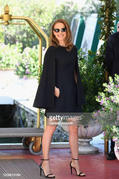 Natalie Portman is seen during the 75th Venice Film Festival on September 4, 2018 in Venice, Italy.