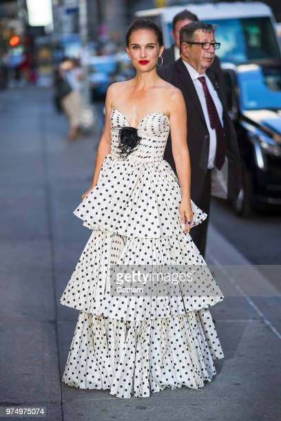 Natalie Portman is seen in Midtown on June 14 2018 in New York City