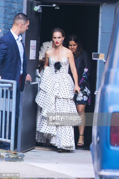 Natalie Portman is seen in the West Village on June 14 2018 in New York City