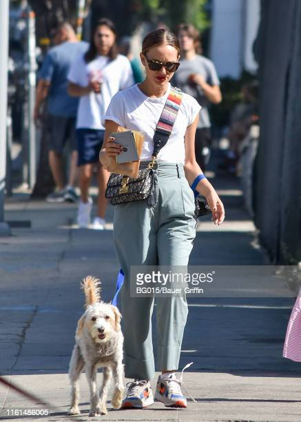Natalie Portman is seen on August 13 2019 in Los Angeles California