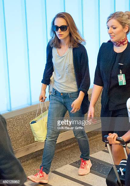 Natalie Portman seen at LAX on June 05 2014 in Los Angeles California