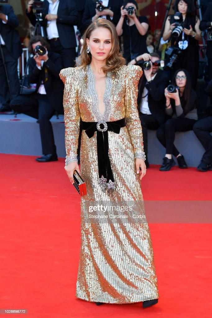 Vox Lux Red Carpet Arrivals - 75th Venice Film Festival : News Photo